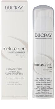 Ducray Melascreen ľahký krém proti pigmentovým škvrnám SPF 15