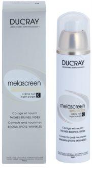 Ducray Melascreen Creme de noite nutritivo contra manchas de pigmentação e rugas
