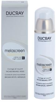 Ducray Melascreen odżywczy krem na plamy pigmentacyjne, przeciwzmarszczkowy na noc