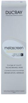 Ducray Melascreen crema de noapte nutritiva impotriva petelor pigmentate si a ridurilor