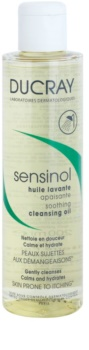 Ducray Sensinol óleo de banho suave com efeito hidratante