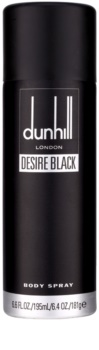 Dunhill Desire Black spray corporel pour homme 195 ml