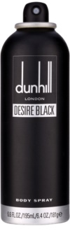 Dunhill Desire Black spray corporal para hombre 195 ml