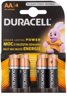 Duracell 1,5 V Alkaline AA tužková baterie 4 ks