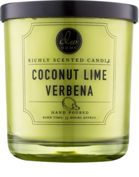 DW Home Coconut Lime Verbena scented candle