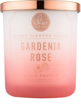 DW Home Gardenia Rose bougie parfumée 107,7 g