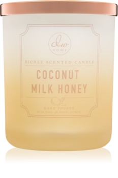 DW Home Coconut Milk Honey Scented Candle 427 g