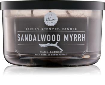 DW Home Sandalwood Myrrh vonná svíčka 363,44 g