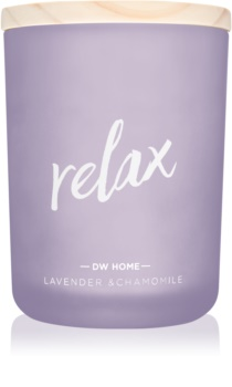 DW Home Relax scented candle