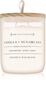 DW Home Vanilla + Sugarcane Duftkerze  501 g