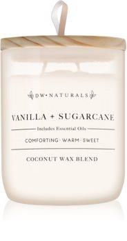 DW Home Vanilla + Sugarcane vonná svíčka 501 g