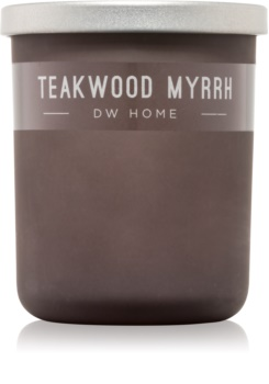 DW Home Teakwood Myrrh Scented Candle 107,73 g