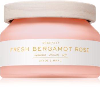 DW Home Fresh Bergamot Rose vonná svíčka 390,5 g