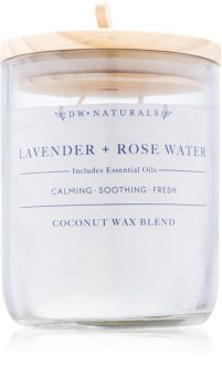 DW Home Lavender + Rose Water Scented Candle 500,94 g