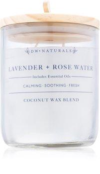 DW Home Lavender + Rose Water vonná svíčka 500,94 g