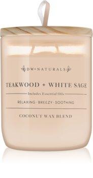 DW Home Teakwood + White Sage dišeča sveča  501 g