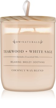 DW Home Teakwood + White Sage Scented Candle 501 g