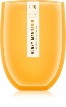 DW Home Honey Mandarin vela perfumada com pavio de madeira