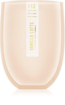 DW Home Vanilla Latte lumânare parfumată  436,30 g cu fitil din lemn