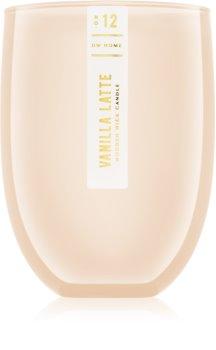 DW Home Vanilla Latte lumânare parfumată  cu fitil din lemn