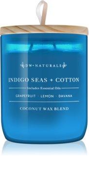 DW Home Indigo Seas + Cotton dišeča sveča  501 g