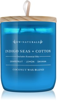DW Home Indigo Seas + Cotton vela perfumada  501 g