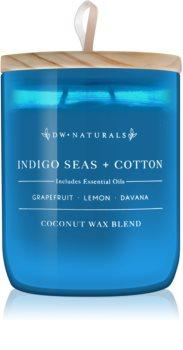 DW Home Indigo Seas + Cotton vonná sviečka
