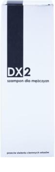 DX2 Men champú anticanas para cabello oscuro