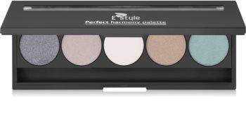 E style Perfect Harmony Palette paletka očných tieňov so zrkadielkom