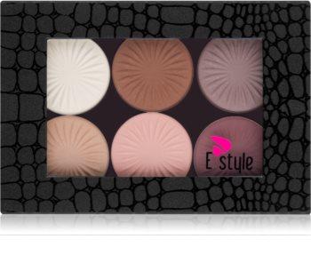 E style Magnetic Palette paletka očných tieňov