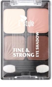 E style Fine & Strong fard ochi cu aplicator
