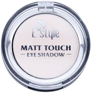 E style Matt Touch matné očné tiene