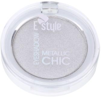 E style Metallic Chic metalické oční stíny