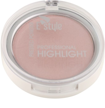 E style Professional Highlight enlumineur poudre compact