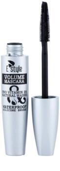E style Volume Waterproof Mascara mascara pentru volum si consistenta