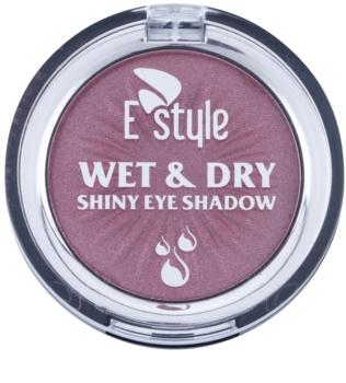 E style Wet & Dry oční stíny