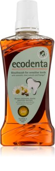 Ecodenta Green Sensitivity Relief elixir bocal para dentes sensíveis