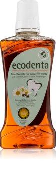 Ecodenta Green Sensitivity Relief Mundwasser für empfindliche Zähne
