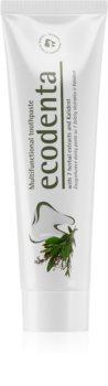 Ecodenta Green Multifunctional pasta de dinti cu Fluor 6+ ani