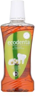 Ecodenta Chamomile & Clove & Teavigo elixir bocal para dentes sensíveis