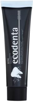 Ecodenta Expert Extra pasta de dientes blanqueadora con carbón negro