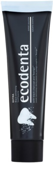 Ecodenta Extra dentífrico branqueador com carvão preto
