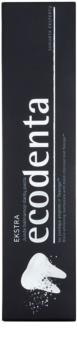 Ecodenta Extra pasta de dientes blanqueadora con carbón negro