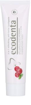 Ecodenta Kalident pasta de dientes antiplaca con efecto refrescante 2 en 1