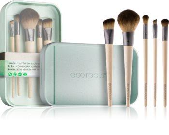 EcoTools Start The Day Beautifully kit de pinceaux pour femme