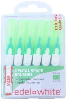 Edel+White Interdental Brushes brossettes interdentaires 6 pcs
