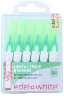 Edel+White Interdental Brushes escovas interdentais 6 pçs