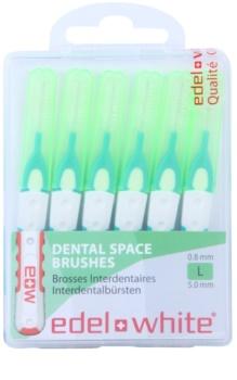 Edel+White Interdental Brushes mezizubní kartáčky 6 ks