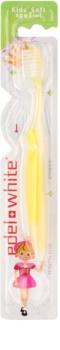 Edel+White Kids cepillo de dientes para niños  suave