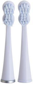 Edel+White Sonic Generation Whitening Dual Clean cabeças de reposição para escova de dentes sónica 2 pçs